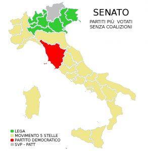 Elezioni Voti Italia Senato